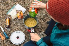 This list contains a bunch of creative, simple backpacking meal ideas using food from Trader Joe's - perfect for mixing up your next backpacking meal plan!