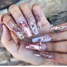 """403 Me gusta, 4 comentarios - ReCreations & Inspirations (@vanessanailzfeatures) en Instagram: """"I ABSOLUTELY LOVE THESE by @nailsby_evon """""""