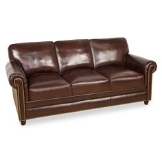 Mobexpert canapea 3 locuri piele maro Webster.   Pareri?