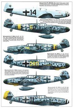 Bf 109 G, G12 and K variants (7) | Flickr - Photo Sharing!