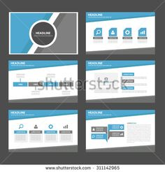 Marketing Brochure Templates Set   Template