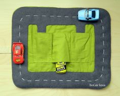 travel wallet for toy cars
