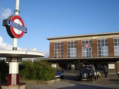 Oakwood Tube station. Charles Holden