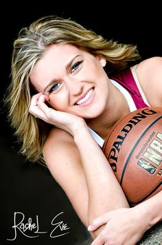 Rachel Eve Photography - senior session #Basketball senior sports photography, #photography #sports