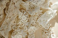 I came home with lace though. Really gorgeous lace. Antique Fairs, Lace Wedding, Wedding Dresses, French, Stuff To Buy, Fashion, Bride Dresses, Moda, Bridal Gowns