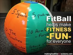 Learn how to make your own FitBall for a quick physical activity break! #UNLFoodFitness #Nebraska4H Do you need a quick physical activity break or game to help make fitness fun for youth? I created...