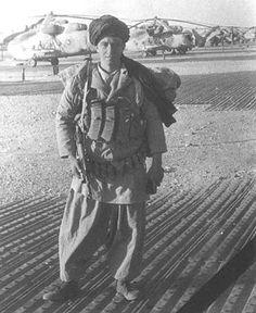 Soviet Spetsnaz during Afghan War, 1987.