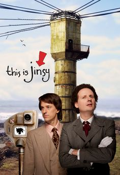 Chris Bran & Justin Chubb of this is jinsy.  This show has me in tears of laughter!  Nightly bye!!