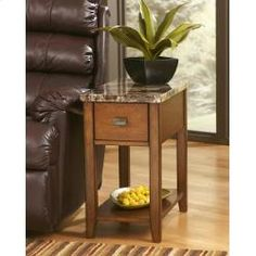 T007158 In By Ashley Furniture In Longview, TX   Chair Side End Table