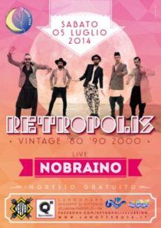In occasione della Notte Rosa al Velvet Rimini si festeggia in compagnia dei NoBraino