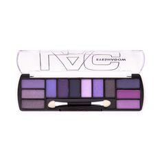 12 Color Eyeshadow Palette - Poppin Purple