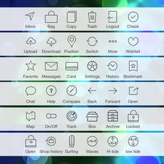 Free iOS7 Tab Bar Icons