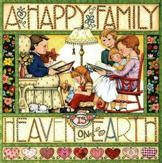 A Happy Family by Mary Engelbreit | Quotes and Funny Sayings | Pinter…