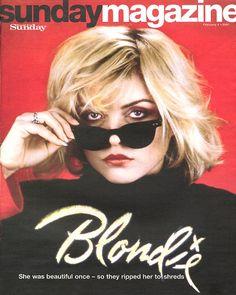 Blondie - Debbie Harry — Debbie Harry in Sunday Magazine
