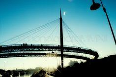 Architetture...Ponte del mare by Simone Lanaro, via Behance