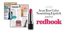 Avon in the news!   Get Lush, unforgettable lips with Avon True Color Nourishing Lipstick! 💄  Shop: yourAvon.com/rmahurin