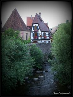 Colmar - Alsace Alsace, Cabin, France, House Styles, Home Decor, Decoration Home, Cabins, Cottage, Interior Design