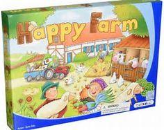 Image Result for happy farm board game. Age range 8+