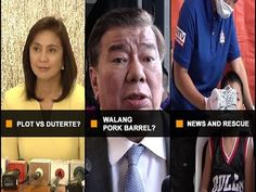 """UNTV: Ito Ang Balita (January 9, 2017) - WATCH VIDEO HERE -> http://dutertenewstoday.com/untv-ito-ang-balita-january-9-2017/   — """"LeniLeaks"""" hindi sapat na batayan sa umano'y destabilization plot vs. Pres. Duterte ayon sa ilang mambabatas; VP Robredo, hindi rin daw maaaring isangkot sa umano'y """"LeniLeaks""""  — Sen. Drilon at Pimentel, iginiit na walang pork barrel sa 2017 national budget  — Mga nasaktan at nangailan..."""