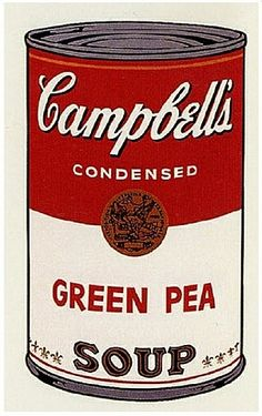 Andy Warhol: Campbell's Soup I: Green Pea