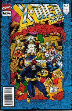 x-men 2099   Comisc-marvel-2099: Xmen - 2099 - vol 1