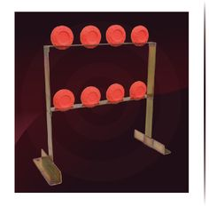 Get out and do something fun! Shoot a gun! These steel target stands are great for clay shooting and other targets. I've used wood but it inevitably gets shot through. Shooting Targets, Shooting Guns, Shooting Range, Steel Target Stands, Welding Projects, Projects To Try, Range Targets, Steel Targets, Target Practice