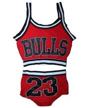 New Miley Cyrus Costume for women Crop top Vest and shorts set bulls 23 top shorts Sports 2 piece set hip-hop Jazz Red Sexy Suit(China (Mainland))