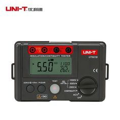 68.29$  Buy here - http://aixp3.worlditems.win/all/product.php?id=32793040967 - UNI-T UT501B Digital Insulation Resistance Testers Ground Meter Megohmmeter Voltmeter w/LCD Backlight Earth Tester Megger