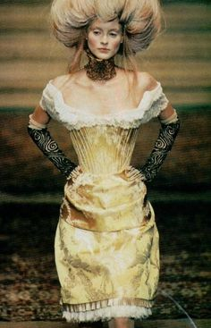 givenchy by alexander mcqueen haute couture  #baroque