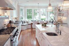 kitchen bay window - Google Search