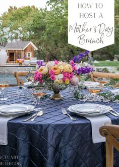 This year I am looking forward to hosting a little brunch for my Mom, sister, and a few other important mamas that I know. The name of the game for me when it comes to hosting on Mother's Day is to keep it simple, so today I thought I would share a few ideas for how to host a Mother's Day brunch that is beautiful and most of all EASY! Citrus Garden, Summer Garden, Winter Centerpieces, Wedding Centerpieces, Window Planters, Table Setting Inspiration, Outdoor Cushions And Pillows, Mothers Day Brunch, Outdoor Settings