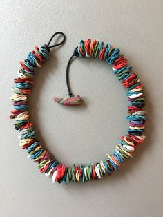 Lyn Tremblay Jewellery Art - One of my favourite techniques. Love the fluidity - very comfy to wear!