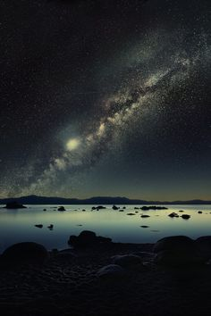 Milky Way in the night sky. :)