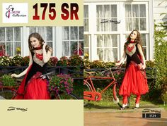 red and black frock  from  MSM Collection for buy contact me  www.facebook.com/msmcollection3