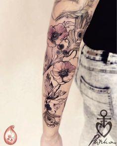Pliszka tattoo