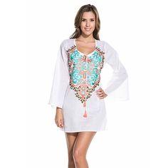 OndadeMar | Tops: tunics, ponchi,  pima cotton,embroider, silk   at OndadeMar