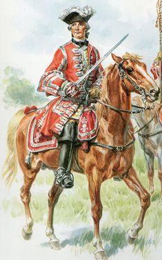 1724 French Gendarme de France