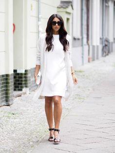 White Ruffled Dress | Not Your Standard