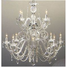 Found it at Wayfair - 12 Light Crystal Chandelier