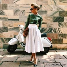 """Eleonora Sebastiani. Modest doesn't mean frumpy. Avoid the Top 10 Fashion & Style Mistakes (free eBook): http://eepurl.com/4jcGX Do your clothing choices, manners, and poise portray the image you want to send? """"Dress how you wish to be dealt with!"""" (E. Jean) http://www.colleenhammond.com/"""