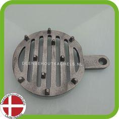 Cast iron grate Morsø 1410-1440-1450 wood stove. / Gietijzeren schudrooster Morso 1410-1440-1450.