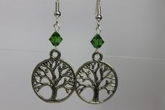 Tree of Life Earrings by CraftySquirrelDesign on Etsy
