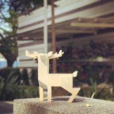 Baby Autumn Stag By Gary Ham x Pobber Toys   The Toy Chronicle