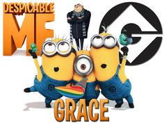 Personalized Custom NAME T-shirt Despicable Me