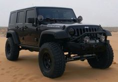 Blacked out Rubicon