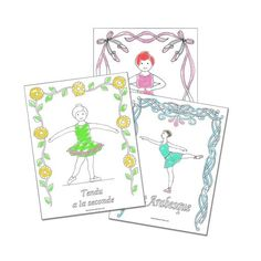 reproducible ballet coloring sheets