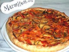 pâte feuilletée, poivron, oignon, tomate, courgette, oeuf, Fromages, poivre, Sel
