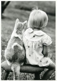 cat & friend