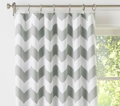 Clearance Ready To Ship Large Horizontal Stripe Curtains Navy And White 84l X 50w Nursery Striped