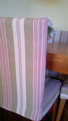 Fundas para las sillas de comedor ( costura) ~ Juntitoscrafts punto y manualidades